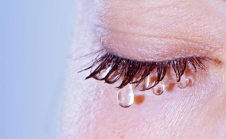 Слезная система человеческого глаза