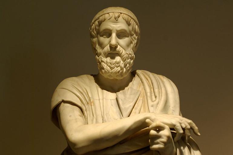 Древнегреческий поэт-сказитель Гомер