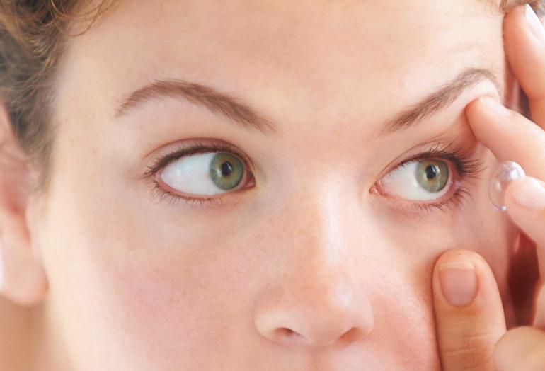как следует надевать оптические изделия