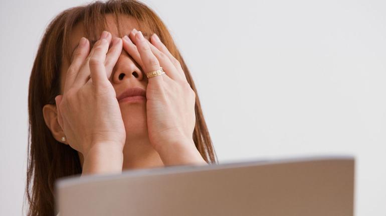 нагрузка на органы зрения