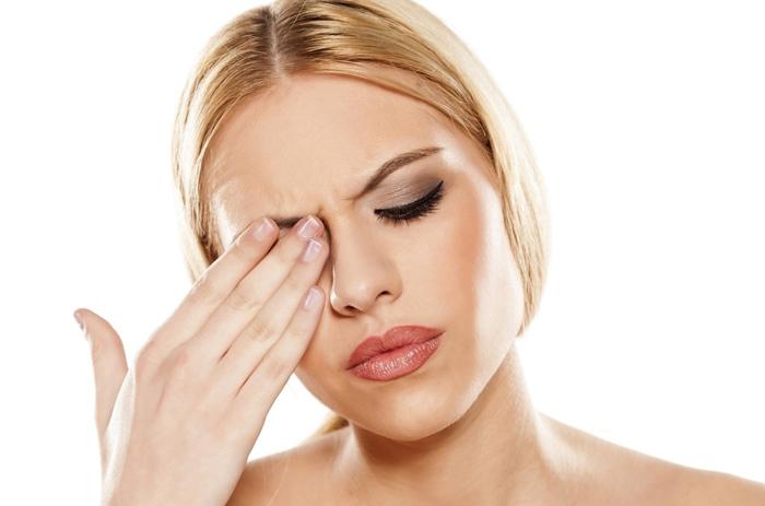 травматическое поражение глаз