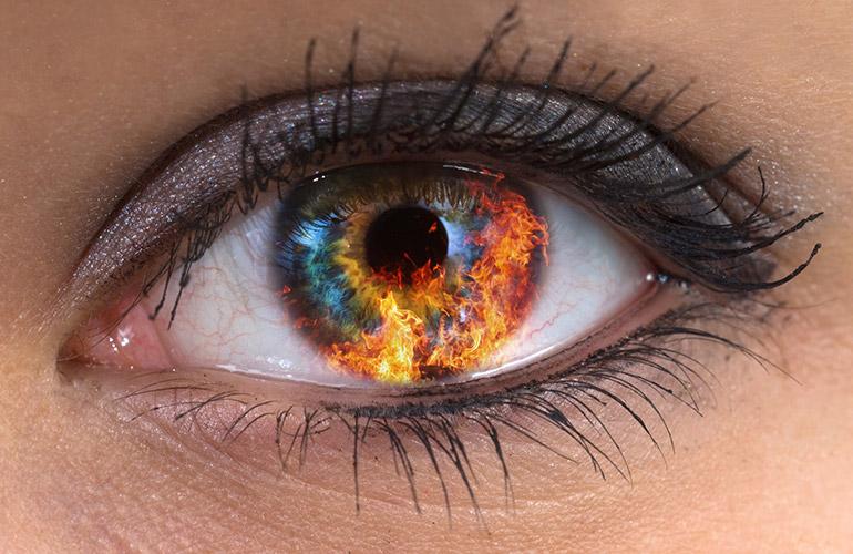 болевой синдром в глазах
