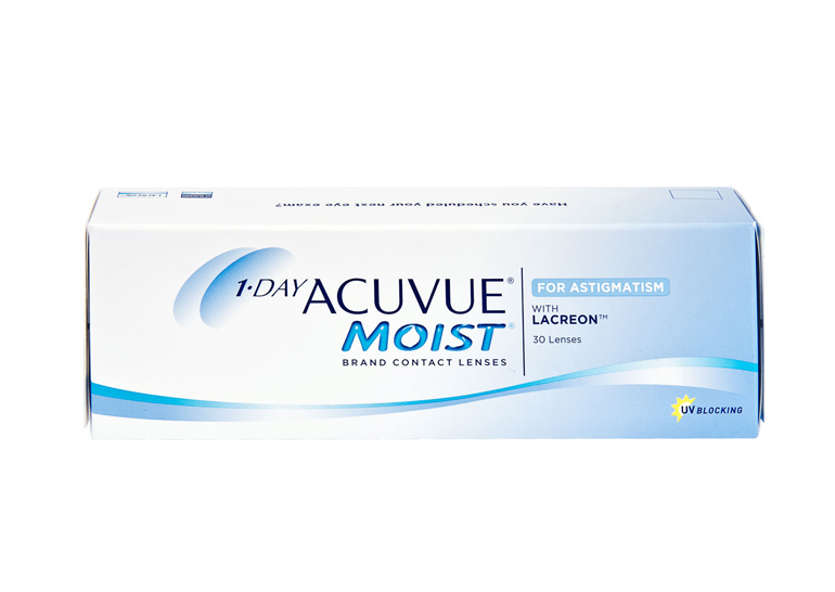 1-Day ACUVUE Moist for Astigmatism,
