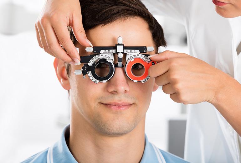 подбор средств коррекции зрения